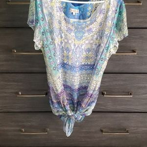 Live and Let Live Boho Blouse